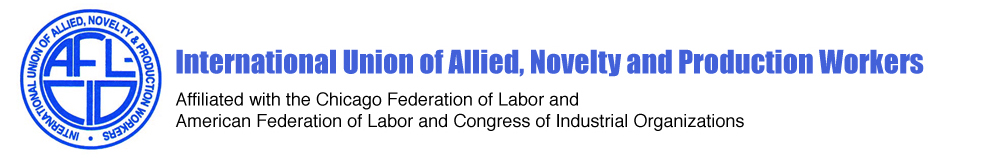 Logo for International Union of Allied, Novelty and Production Workers